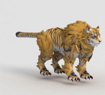 魔兽世界游戏老虎坐骑