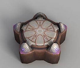 魔兽世界能量台模型