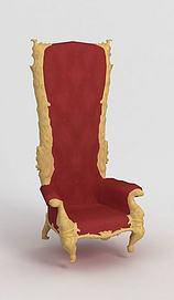 游戏王座椅子模型