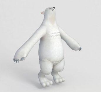 北极熊动漫形象