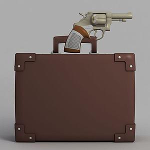 动漫手枪装备模型3d模型