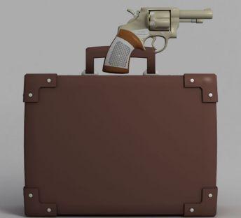 动漫手枪装备