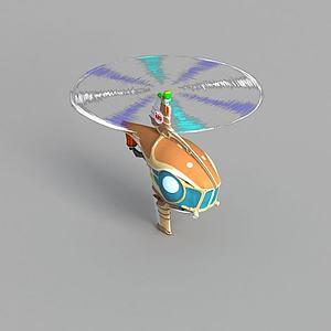 动漫直升机模型