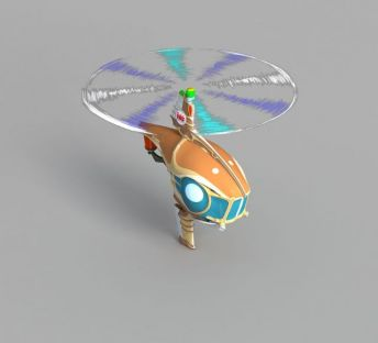动漫直升机