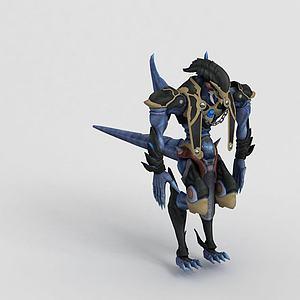 游戲動漫角色模型3d模型