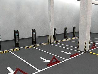 停车位3d模型