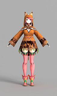 3d动漫人物模型