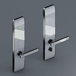 智能指纹门锁模型