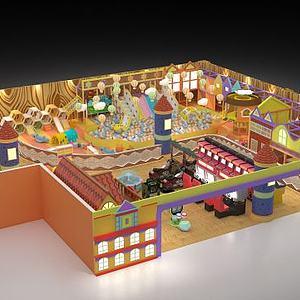 儿童乐园模型