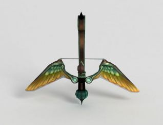 3d龙之谷游戏武器模型