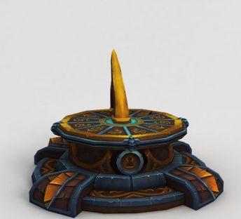 魔兽世界游戏场景装饰