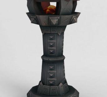 魔兽世界游戏灯柱