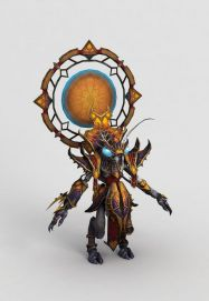 魔兽世界人物游戏形象模型