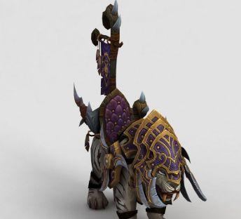 魔兽世界游戏坐骑