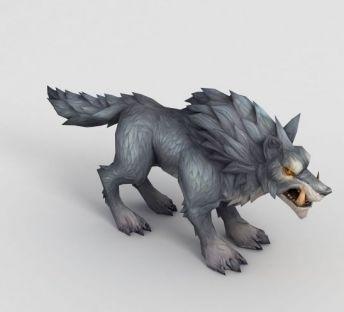 魔兽世界游戏狼坐骑