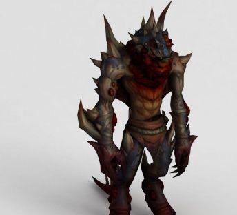 魔兽世界人物游戏形象