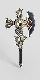 龙之谷武器斧头锤子模型