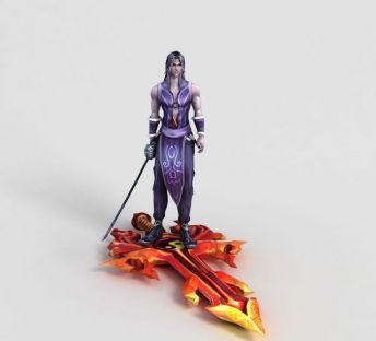 洪荒游戏烈焰剑