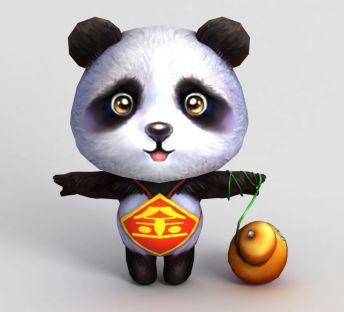 洪荒游戏熊猫