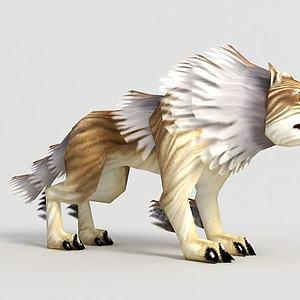 洪荒游戏巨狼模型