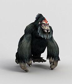 游戏魔化猩猩模型