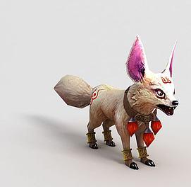 洪荒游戏白狐模型