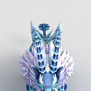 洪荒游戏碧水兽模型