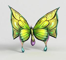 洪荒游戏蝴蝶模型