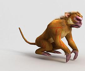 洪荒游戏裂金猿模型