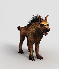 洪荒游戏野狗模型