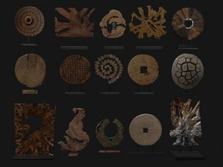 3d木饰雕花模型
