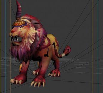 洪荒游戏鬼狮