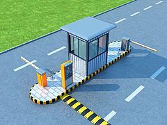 保安亭模型3d模型