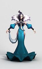 王者荣耀游戏人物模型3d模型