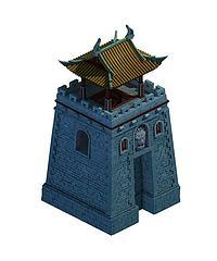 古建城楼模型3d模型