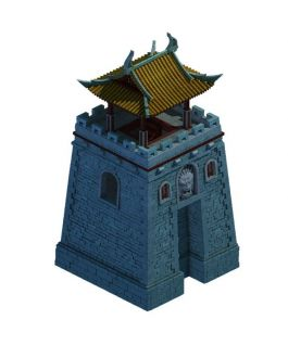 3d古建城楼模型