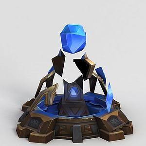 LOL王者榮耀游戲場景模型3d模型