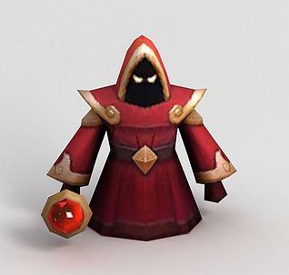 3dLOL王者荣耀游戏人物模型