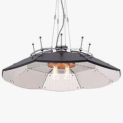 工业吊灯模型3d模型