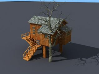 树屋3d模型