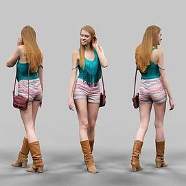 时尚美女模型