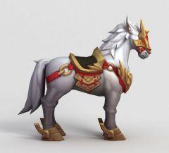 LOL王者荣耀游戏坐骑模型3d模型