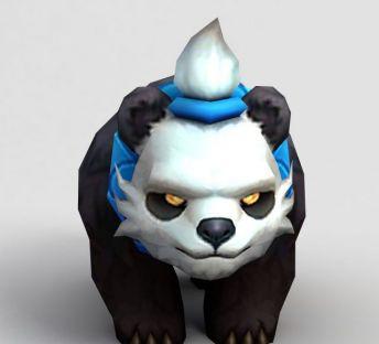 LOL王者荣耀游戏熊猫人