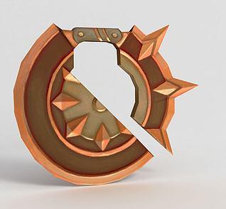 龙之谷武器轮3d模型