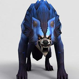 3dLOL王者榮耀游戲怪獸模型