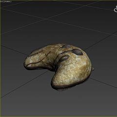 游戏食物面包模型3d模型