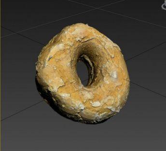 游戏食物甜甜圈