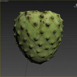 游戏食物水果模型