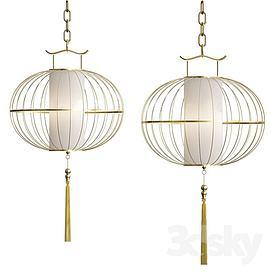 中式吊灯模型