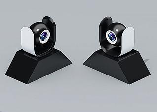 摄像头,电子设备,智能设备3d模型